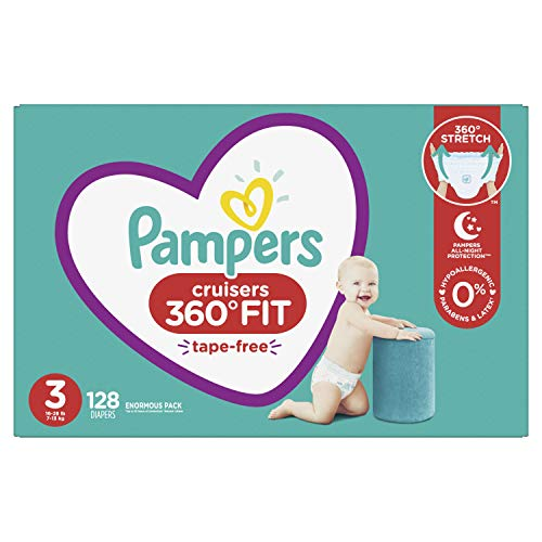 Pampers Cruisers 360° Fit Disposable Baby Diapers