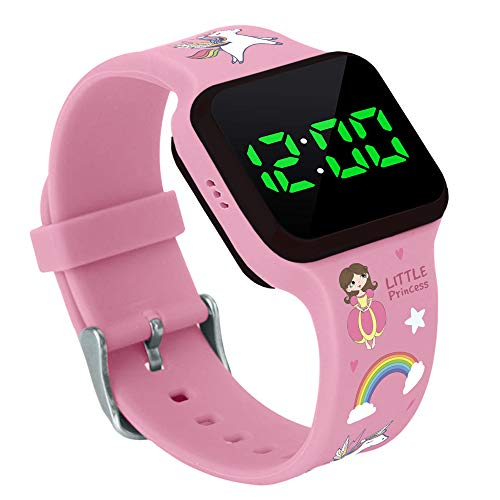 Potty Training Timer Watch With Flashing Lights And Music Tones By Athena Futures – Princess