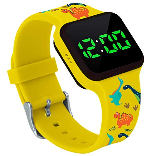 Potty Training Timer Watch With Flashing Lights And Music Tones By Athena Futures – Dinosaur
