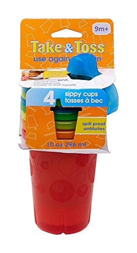 Spill-Proof Sippy Cups By The First Years