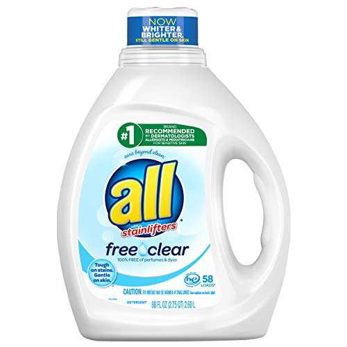 all Free Clear Liquid Laundry Detergent for Sensitive Skin