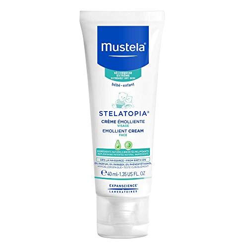 Mustela Stelatopia – Emollient Baby Face Cream – For Eczema-Prone Skin