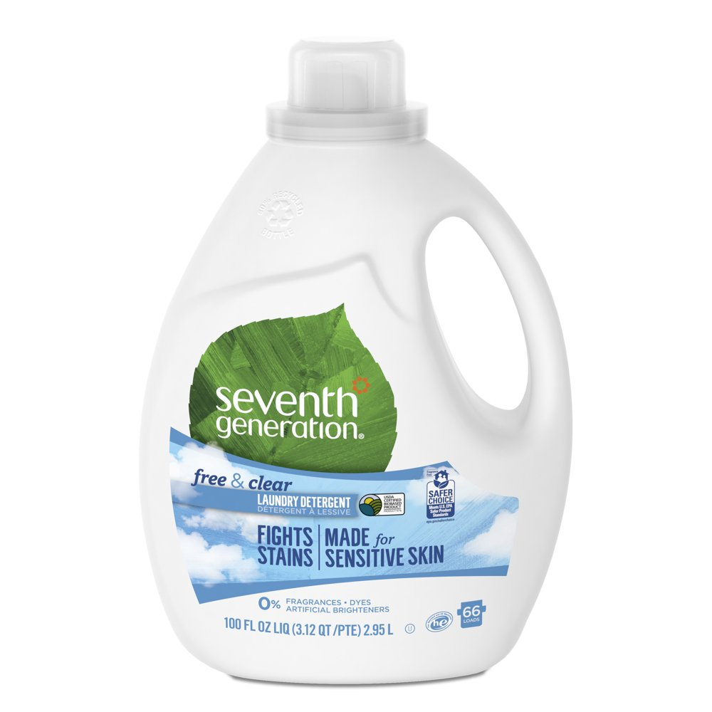 Seventh Generation Free & Clear Natural Liquid Laundry Detergent