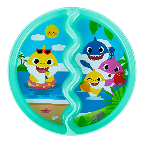The First Years Pink Fong Baby Shark Suction Plate for Kids