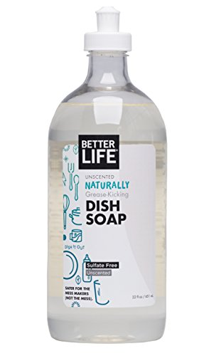 Better Life Dish Soap, Unscented