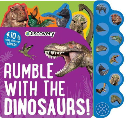 Discovery Kids Dinosaurs Rumble Sound Book