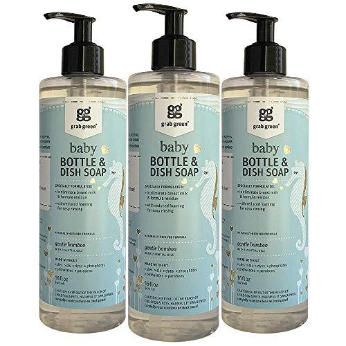 Grab Green Natural Baby Bottle & Dish Soap
