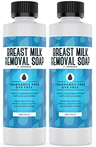 IMPRESA's Breast Milk Removal Soap