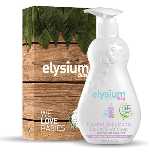 Premium Natural Baby Bottle Liquid Dish Soap by Elysium Eco World
