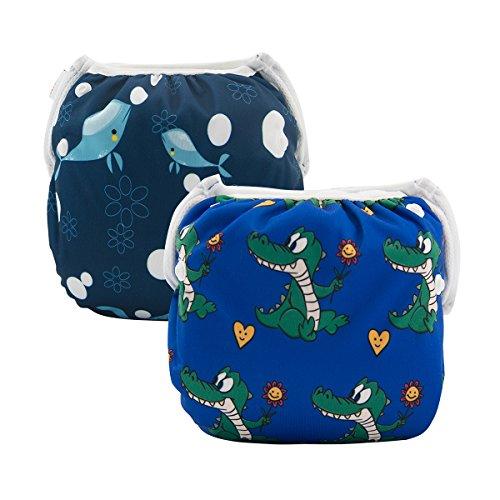 ALVABABY Reuseable Swim Diapers (2pcs)
