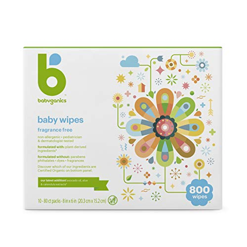 Babyganics Baby Wipes, Unscented, 800 Ct, Only $25.99 (reg. $34.99)!