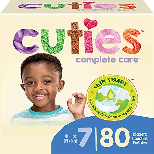 Cuties Complete Care Baby Diapers, Size 7, 80 ct, As Low As $$26.39 (reg. $39.99)!