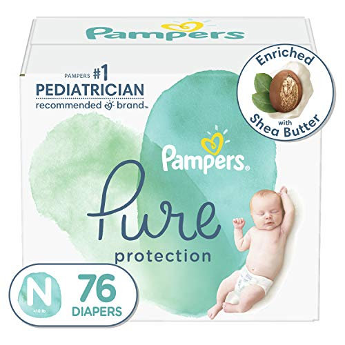 Pampers Pure Protection Diapers, Size 0, 76 Ct, Only $21.94!