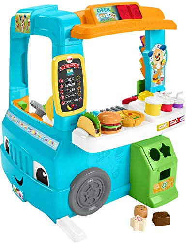 Fisher-Price Laugh & Learn Servin' Up Fun Food Truck, Only $40.96 Shipped (save $28.04)!