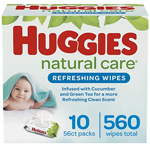 Huggies Natural Care Baby Wipes 560-Count, As Low As $9.09 (reg. $15.99)!