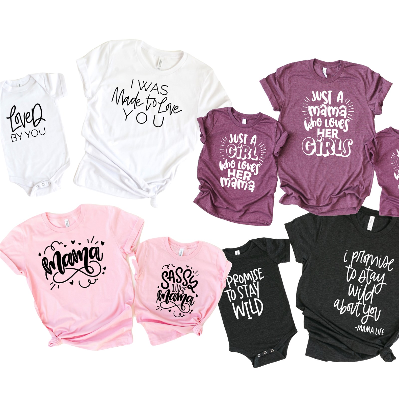 Matching Mother and Daughter Shirts, Only $14.99 Shipped (save $13.96)!