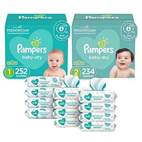 Pampers Baby Diapers and Wipes Starter Kit (2 Month Supply), Only $98.73 Shipped (reg, $132.97)!