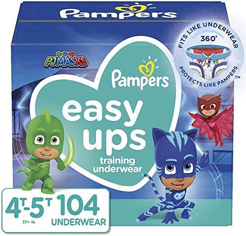 Pampers Easy Ups Training Pants, As Low As $30.2 (Reg. $41.50)!