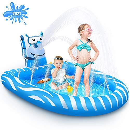 Beewarm Splash Pad Kids & Baby Pool, Only $18.99 (reg. $37.98)!