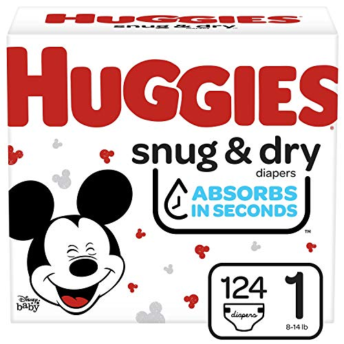 Huggies Snug & Dry Diapers, Size 1, 124 Ct, Only $18.79!