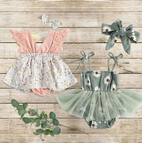 Adorable Spring Time Rompers, Only $12.99 Shipped (reg. $28.99)!