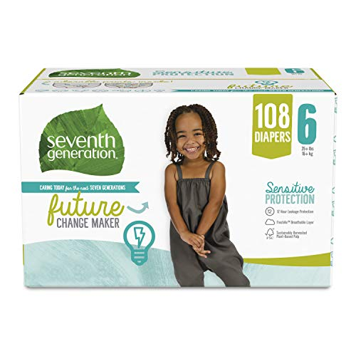Seventh Generation Baby Diapers, As Low As $33.24 (reg. $55.40)!