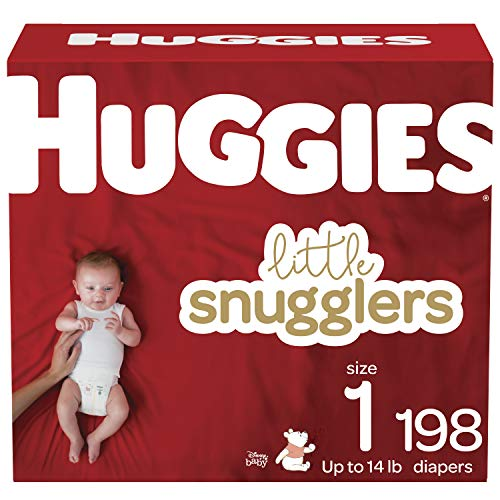 Huggies Little Snugglers, Size 1, 198 - Count, As Low As $26.49!