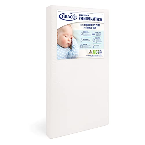Graco Premium Foam Crib & Toddler Mattress, Only $79.99 Shipped (reg. $99.99)!