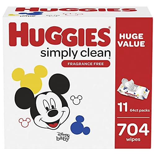 Huggies Simply Clean 704-Count Baby Wipes, as Low as $10.98 (reg. $17.27)!