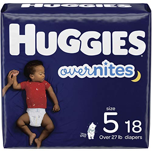 Huggies Overnites Baby Diapers, Size 5, 18 Ct, Only $9.95 (Save $2.24)!