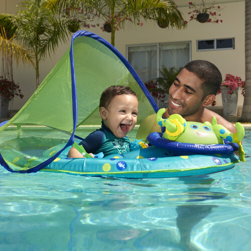 SwimWays Inflatable Baby Octopus Pool Float w/ Canopy, Only $11.62 (Save $15.44)!